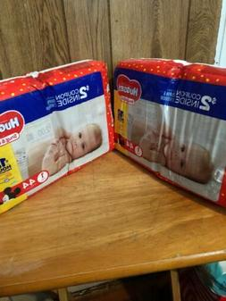 2 Pks Huggies Size 1 Mickey Mouse Disposable Diapers 44 Coun