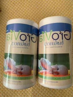 2x 200 sheet GroVia - All Natural BioLiners Unscented Diaper