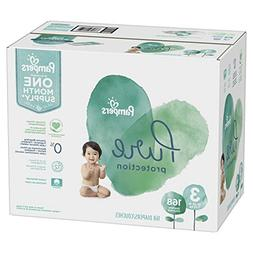 Size 3, 168 Count - Pampers Pure Disposable Baby Diapers, Hy