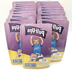38 Count Huggies Pull-Ups Boys Training Pants Diapers Blue S