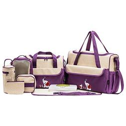 SOHO Collections Diaper Bag Set , 10 Pieces