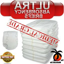 Adult 32 Disposable Heavy Absorbency Size M Medium Briefs Di