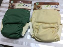 Grovia All in one cloth Diaper one size 10-35 lbs