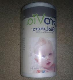 Grovia All Natural Dye Free Disposible Cloth Diaper Liners N