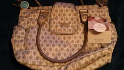 baby diaper bag carters never used tags still on it grey yea