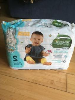 Seventh Generation Baby Diapers Free & Clear for Sensitive S