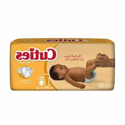 Cuties Baby Diapers, Size 1, Heavy Absorbency, Case of 200,