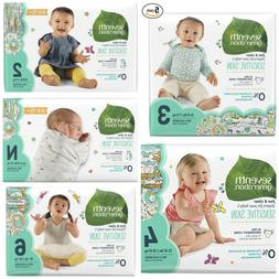 Seventh Generation Baby Diapers Size N, 1, 2, 3, 4, 5, 6 CHE