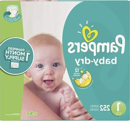 Pampers Baby Dry Diapers Mega Pack