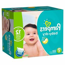 Pampers Baby Dry Diapers Size 2 - 234ct. for babies weigh 12