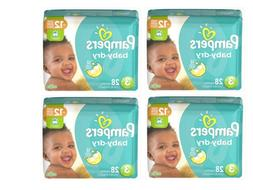 Pampers Baby-Dry Diapers, Size 6  18 Count, 4 packages