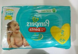 Pampers baby dry Pants Diapers White - SIZE - new born, S, M