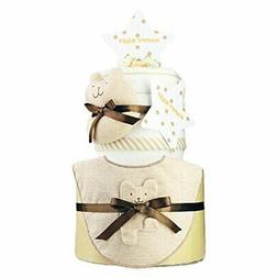 Imabari towel Baby Gifts Organic Two-stage Diaper Cake Sifee