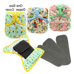 MABOJ Baby Products Cloth Diaper Cover, Snap 3PCS Diapers an