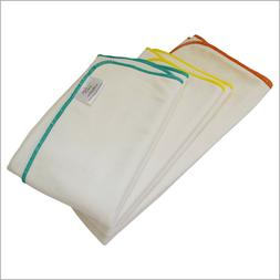bamboo cotton prefold insert for cloth diapers