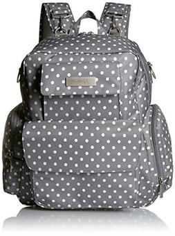 JuJuBe Be Nurtured Large Breast Pump Backpack, Classic Colle