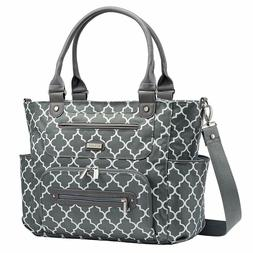 JJ Cole Caprice Diaper Bag, Large Capacity Tote, Please See