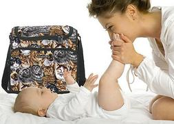 CAT DIAPER BABY BAG by Broad Bay!! Best Cat Lover Baby Showe