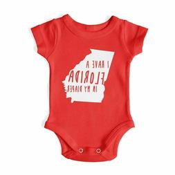 Clearance -  I HAVE A FLORIDA IN MY DIAPER - Baby One Piece