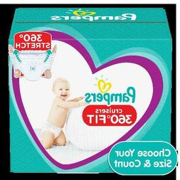 Pampers Cruisers 360 Fit Active Comfort Diapers,