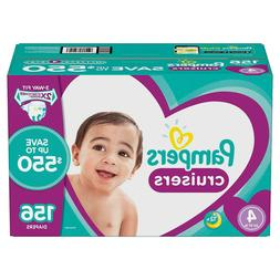 Pampers Cruisers Diapers Size 4 - 156 Ct. for Babies weigh 2