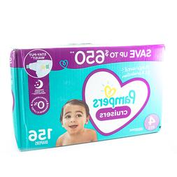 Pampers Cruisers Diapers Size 4  156 Count