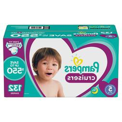 Pampers Cruisers Diapers Size 5 - 132 Ct. for Babies weigh 2