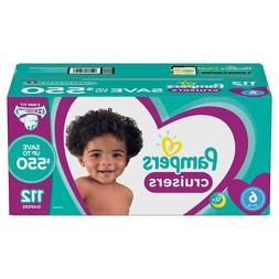 Pampers Cruisers Diapers Size 6 - 112 Ct. for Babies weigh 3