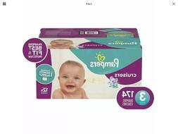 Cruisers Disposable Baby Diapers Month Supply Size 3, 174 Co