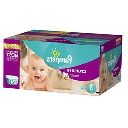 Pampers Cruisers Economy Plus Case & Sensitive Wipes Refill