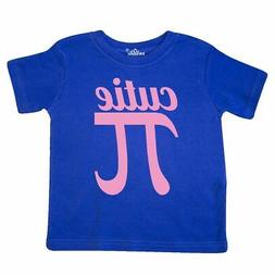 Inktastic Cutie Pi Pink Toddler T-Shirt Math Geeky Funny Gee