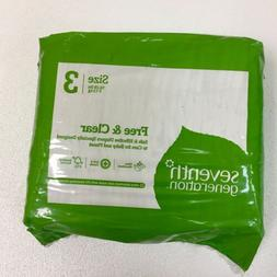 seventh generation diapers 3packs/ SIZE 3