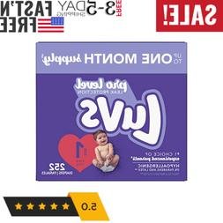Diapers Newborn / Size 1 , 252 Count - Luvs Ultra Leakguards