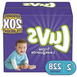 Diapers Size 1,2,5,4 - Luvs Ultra Leakguard Disposable Baby