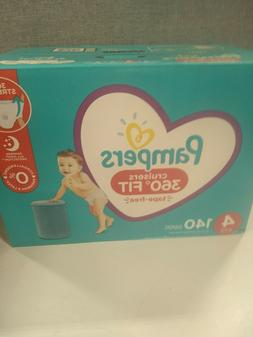 Pampers Diapers Size 4 - Cruisers 360˚ Fit Disposable Baby
