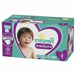 Diapers Size 5 128 Count - Pampers Cruisers Disposable Baby