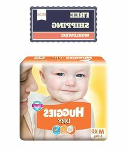 Huggies Dry Diapers Disposable Size NB S M L XL for Soft Ski