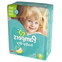 Pampers Baby Dry Diapers Size 6 Jumbo Pack, 21 ct