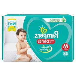 Pampers Dry Soft Comfortable Fit Disposable Diaper Pants 7-1