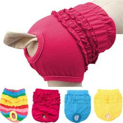 Female Dog Belly Band Wrap Toilet Training Diapers Nappy San