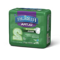 FitRight Stretch Ultra Adult Diapers, Disposable 4 packs of