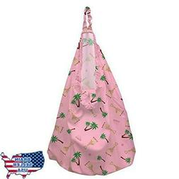 Charlie Banana Hanging Diaper Pail Sophie Coco Pink, New, Fr