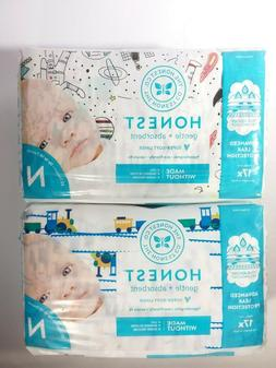 Honest Company diapers size N for Newborn NEW in 2 packages