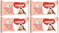 Huggies Baby Wipes 56Ct Refill Soft Skin W/Vitamin E Pack of