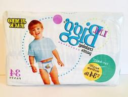 I.M. Bigg Training Pants For Boys Diapers Up To 34lbs Lot Of