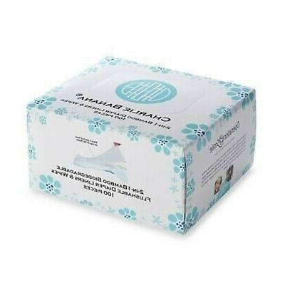 100 count 2 in 1 bamboo diaper