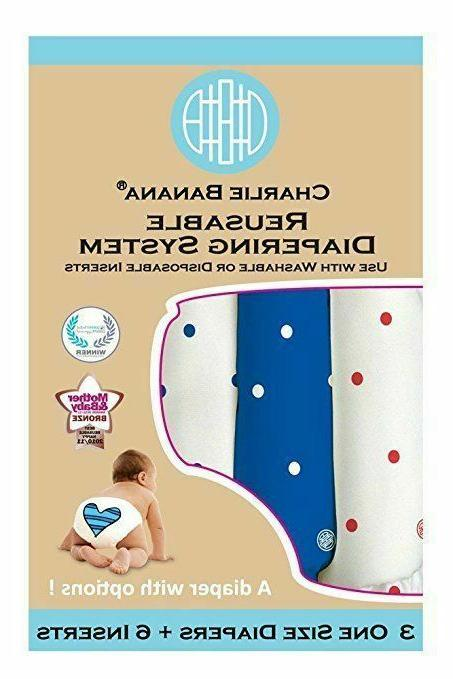 Charlie 2-in-1 Reusable Diapering Diapers Size
