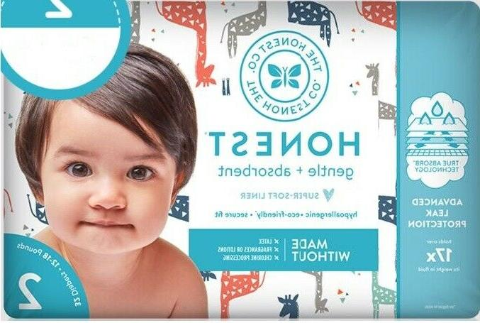 2 pack gentle diapers size 2 64