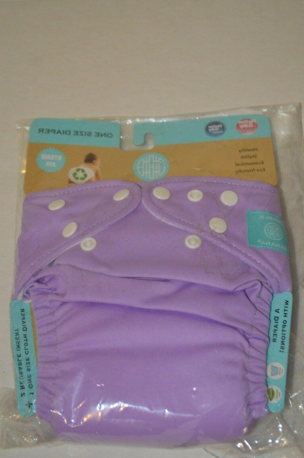 Charlie Diapers 6 inserts One Hybrid AIO