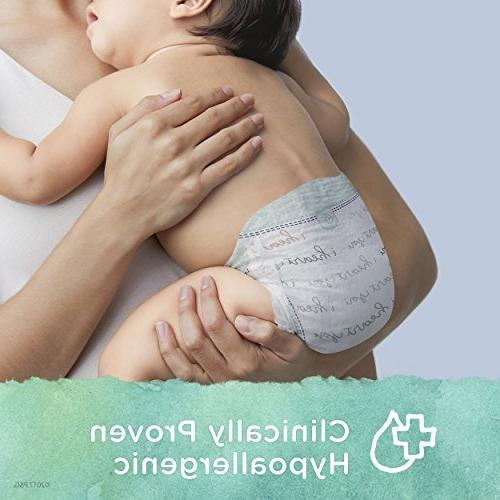 Pampers Pure Disposable Baby Diapers, Hypoallergenic Free 52